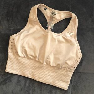Gymshark Sports Bra Tan/Beige